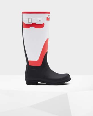 Hunter Women's Original Tall Shadow Print Rain Boots