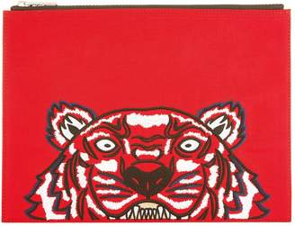 Kenzo Tiger Embroidered Pouch