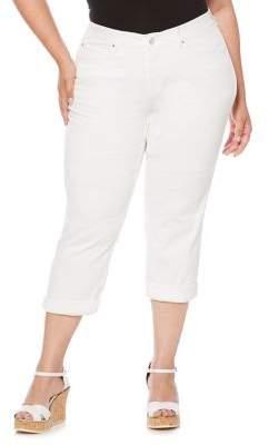 Rafaella Plus Comfort Stretch Capri Pants