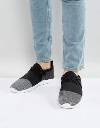 Brave Soul Sneakers In Black