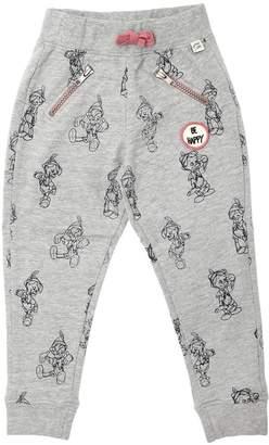 Pinocchio Printed Cotton Sweatpants