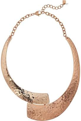 Dauphin Womens Rose Gold Collar Necklace 2q4WIYrVEQ