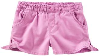 Osh Kosh Oshkosh Bgosh Baby Girl Knot-Hem Denim Shorts