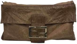 Fendi Baguette leather crossbody bag
