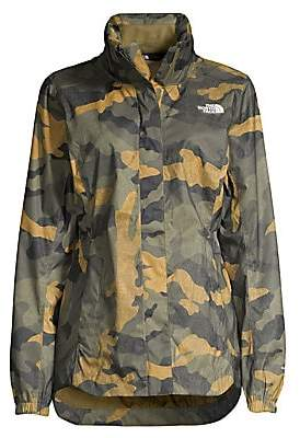 The North Face Women's Resolve Standard-Fit Camouflage Jacket