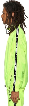 Off-White Off White ARROWS NEON NYLON TRACK JACKET