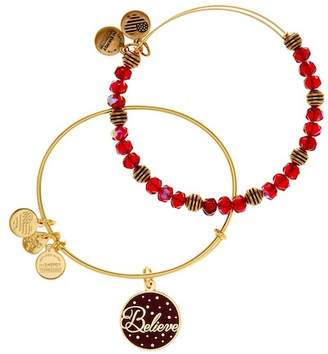 Alex and Ani Believe Bangle Bracelets - 2-Piece Set $68 thestylecure.com