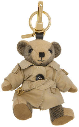 Burberry Tan Thomas Trench Coat Keychain