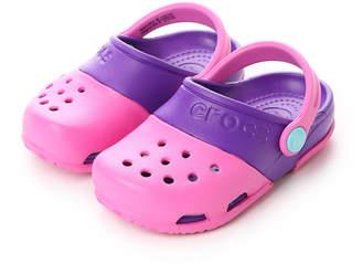 Crocs (クロックス) - クロックス crocs ジュニアサンダル Electro 2.0 Clog Party Pink/Neon Purple C10 15608-6CP-C10