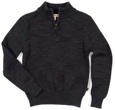 Appaman Mock-Neck Half-Zip Sweater, Size 2-14