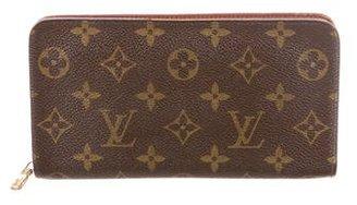Louis Vuitton Monogram Zippy Wallet $645 thestylecure.com