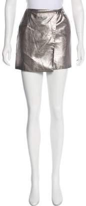 Diane von Furstenberg Wrap Mini Skirt