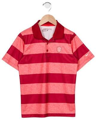 Nike Boys' Striped Athletic Polo Shirt