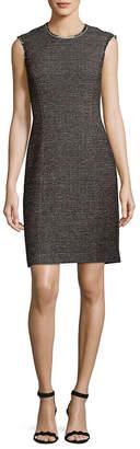 Rebecca Taylor Crewneck Shift Dress