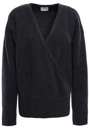 Melange Home Le Kasha 1918 London Wrap-effect Cashmere Sweater
