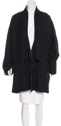 Chanel Embellished Wool Coat w/ Tags