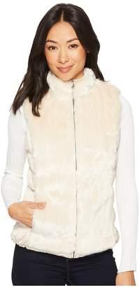 Scully Colorado Faux Fur Reversible Vest w/ Pockets Women's Vest
