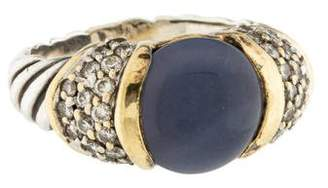 David Yurman Chalcedony & Diamond Ring