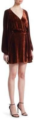 A.L.C. Carlo Velvet Mini Dress
