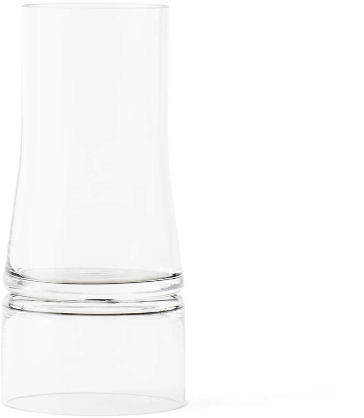 Lyngby Porcelæn - Joe Colombo Vase 2-in-1, small, transparent / transparent