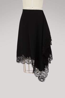 Givenchy Asymmetric skirt