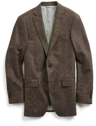 Todd Snyder Sutton White Label Suit Jacket in Brown Donegal Wool