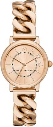 Marc Jacobs Classic Chain Link Bracelet Watch, 28mm