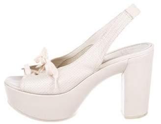 See by Chloe Slingback Platform Sandals
