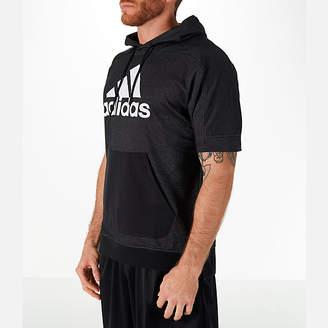 adidas Men's Sport Short-Sleeve Hoodie