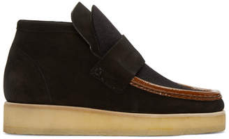 Acne Studios Black Suede Kingston Boots