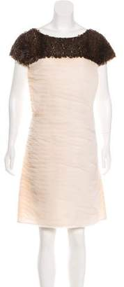 Chanel Embellished Silk Dress