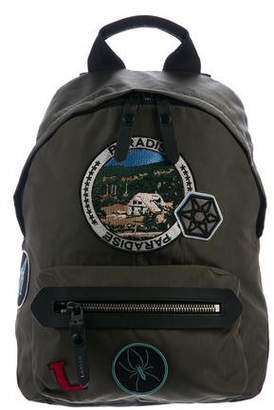 Lanvin Patch Appliqué Backpack