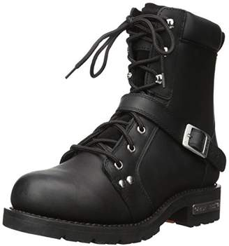 "Ride Tec Men's 9146 8"" Zipper Lace Work Boot"
