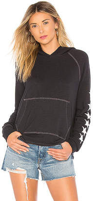 Sundry Stars Cropped Hoodie