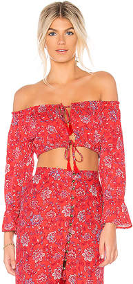 MinkPink Lucia Off Shoulder Top