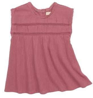 Kensie Peek Crinkle Dress