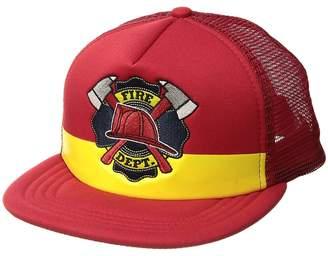 San Diego Hat Company Kids Fire Dept. Trucker Caps