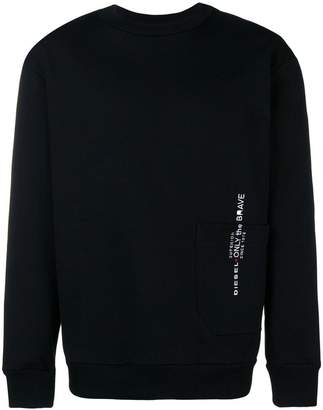 Diesel heritage logo sweater