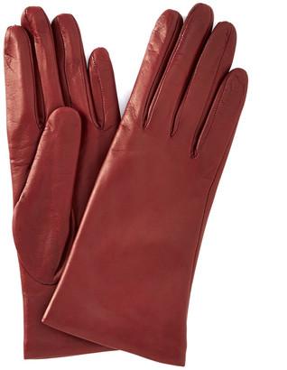 Portolano Basic Bordeaux Cashmere Lined Gloves