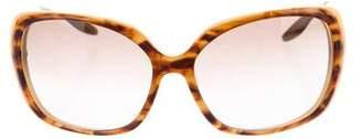 Barton Perreira Gradient Oversized Sunglasses