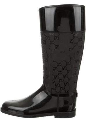 9bcc06137 Gucci Rubber Boots - ShopStyle Canada