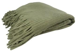 K-Cliffs Deluxe Knitted Throw Blanket Women Poncho Shawl Warm Fashion Cloak Cape Large Wrap Stylish Winter Long Scarf w/ Fringes TH024 Khaki