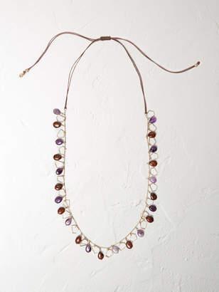 White Stuff Semi Precious Bead Necklace