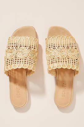 Schutz Valyn Slide Sandals