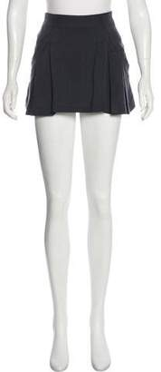 Theyskens' Theory Silk-Blend Mini Skirt