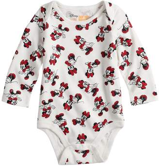Osh Kosh Disneyjumping Beans Disney's Minnie Mouse Baby Girl Long Sleeve Bodysuit by Jumping Beans