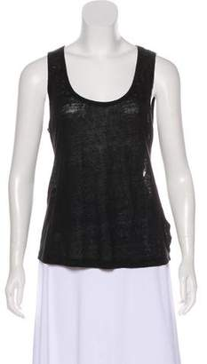 A.L.C. Sleeveless Scoop Neck Tank