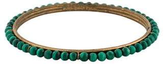 Stephen Dweck Malachite Beaded Bangle