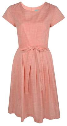 Fever Coral Cotton 'Thea' Dress