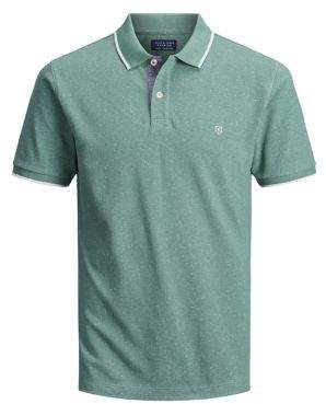 Jack and Jones Tipped Cotton Polo